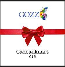 Cadeaukaart GOZZ 15