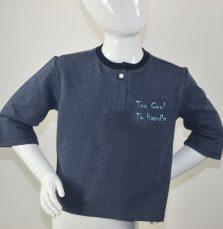 Sweater-blauw